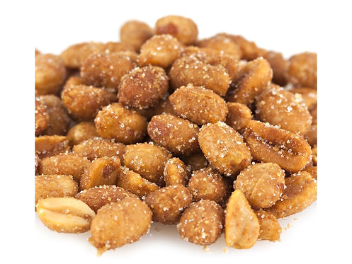 Honey Roasted Peanuts (Pack of 2 - 1 lb bags)