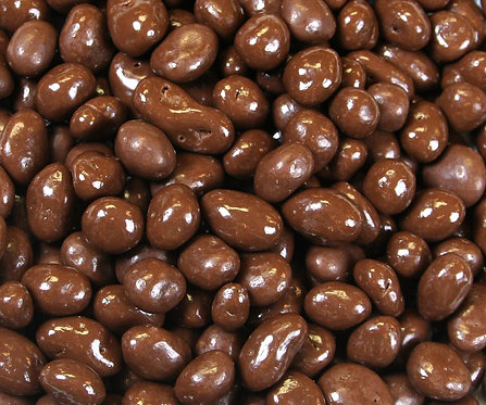 Chocolate Covered Raisins (Pack of 2 - 1 lb bags)