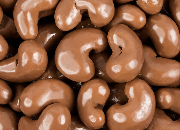 Chocolate Covered Cashews  (Pack of 2 - 1 lb bags)