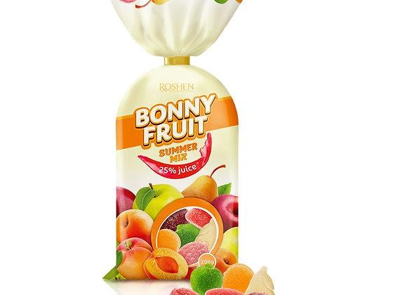 JELLY DROPS ROSHEN BONNY FRUIT SUMMER MIX 200gr
