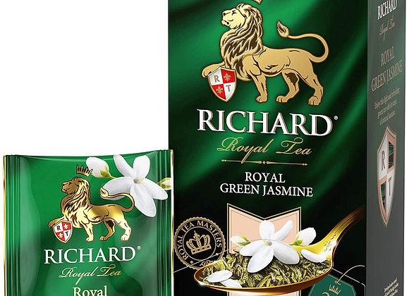 RICHARD Royal Green Jasmine, Flavoured Green Tea in Sachets, 25х2g