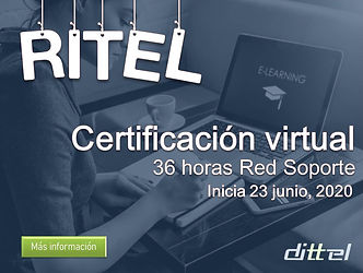 Curso virtual RITEL 36 horas 23 junio 20