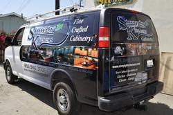 custom van wrap