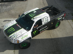 custom trophy truck wrap