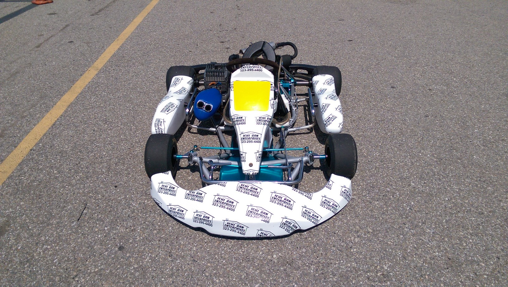 custom shifter cart wrap