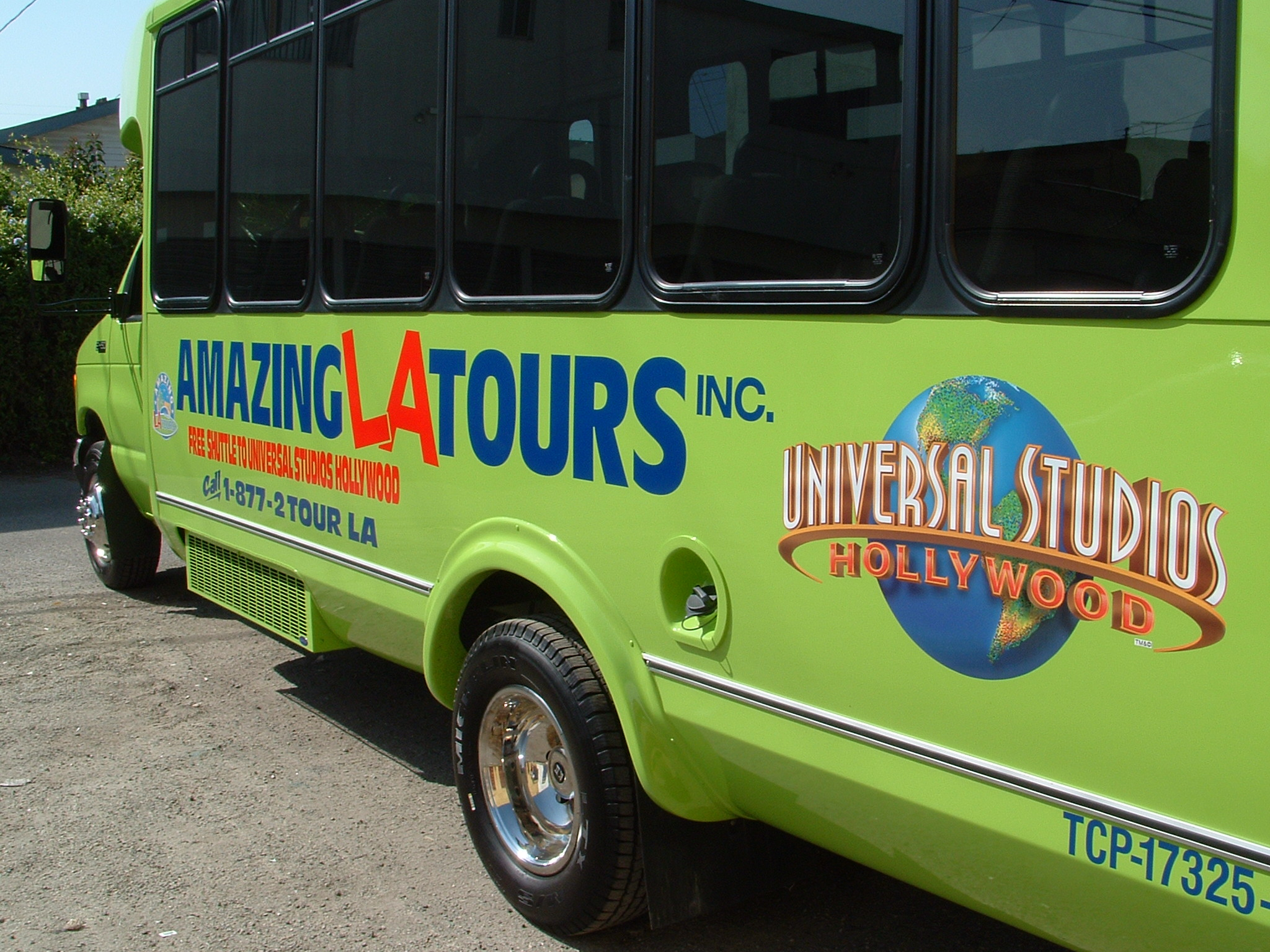 Custom bus wrap