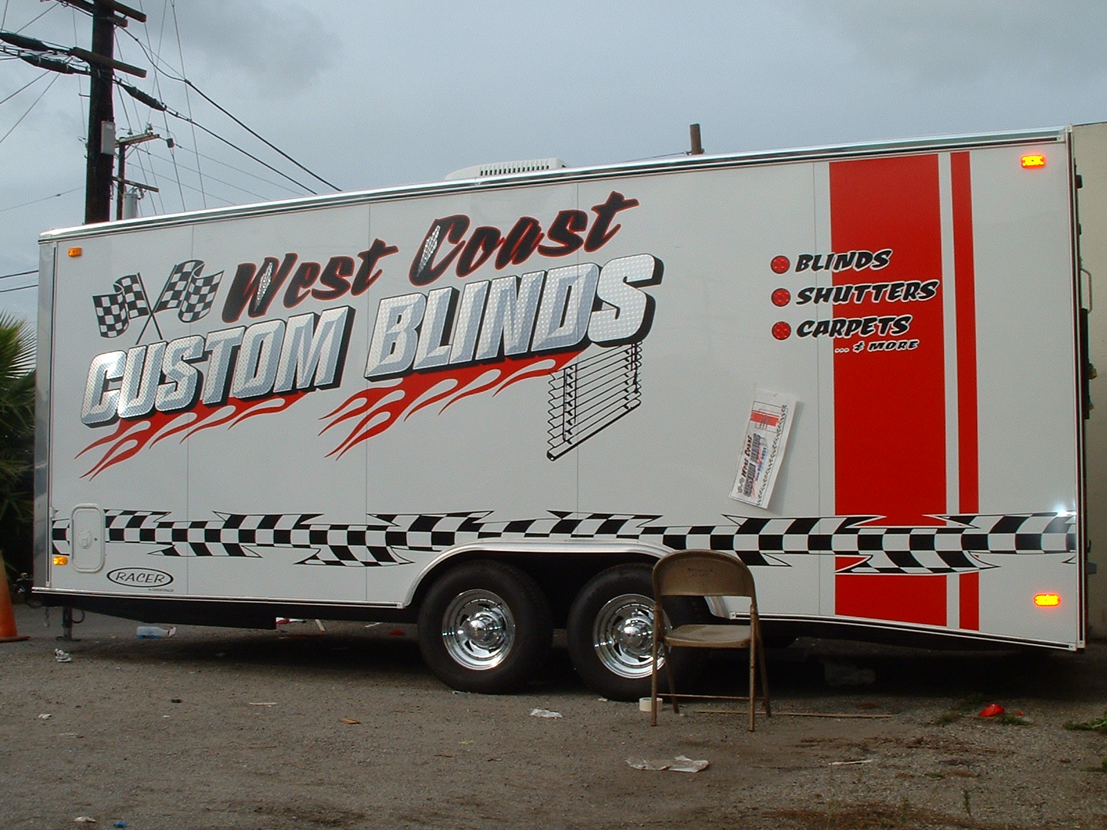 custom trailer wrap