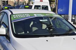 Custom auto dealership decals