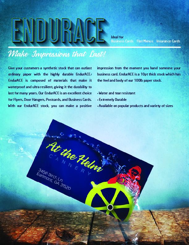 Endurance cards