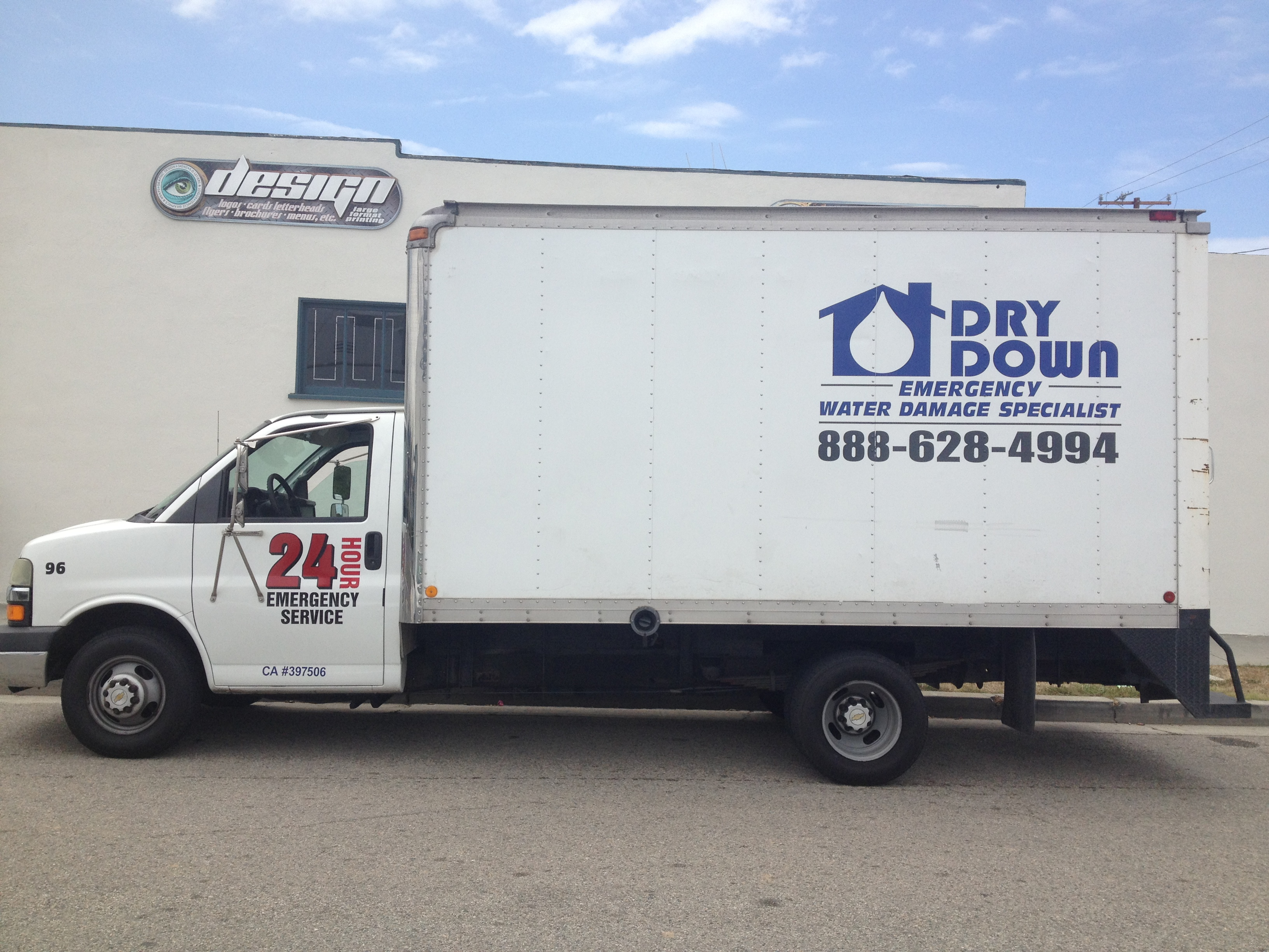 Custom boxtruck wrap