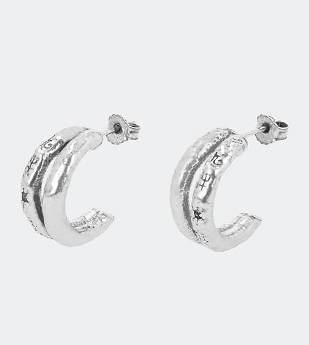 серьги серебряные кольца бижутерия anekke 31702-26-310SIL фото1