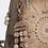Thumbnail: Рюкзак трапецевидной формы с тиснением в бежевых тонах Anekke Ixchel