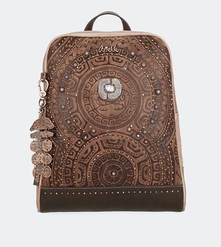 Рюкзак Anekke Ixchel с двойной молнией и тиснением