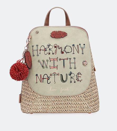 Плетеный рюкзак Anekke Jungle