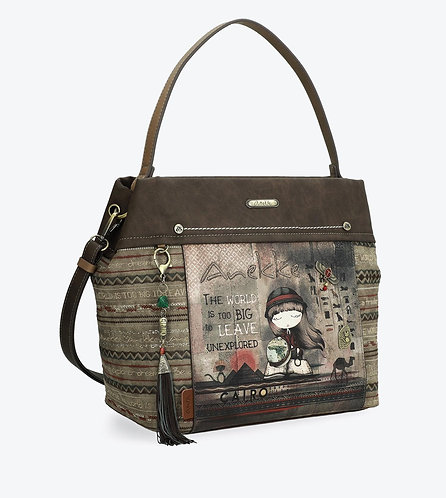 Вместительная сумка через плечо Anekke Egypt