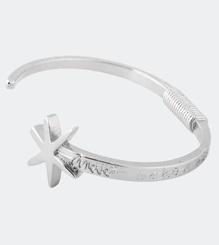 браслет anekke серебряный со звездой 31702-26-005SIL