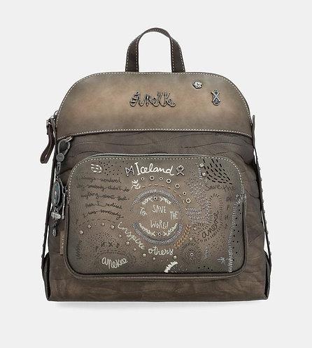 Рюкзак с карманом на молнии Anekke Iceland Rune
