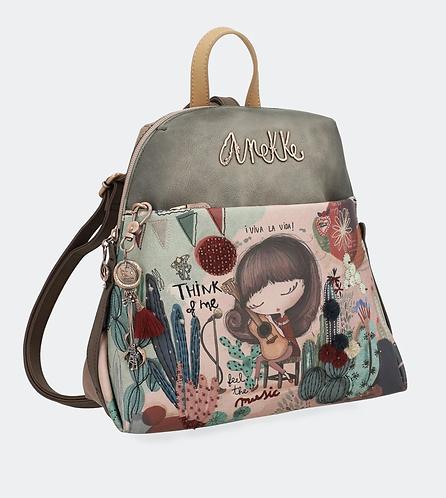 Городской рюкзак на молнии Anekke Ixchel