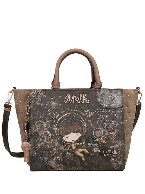Стильная сумка с двумя ручками Anekke Universe