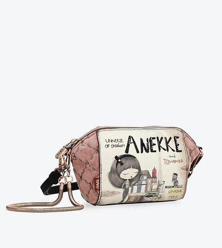Сумка-клатч с бархатной отделкой Anekke Couture