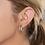 серьги серебряные кольца бижутерия anekke 31702-26-310SIL фото2