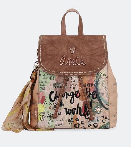 Рюкзак на завязках и молнии Anekke Jungle