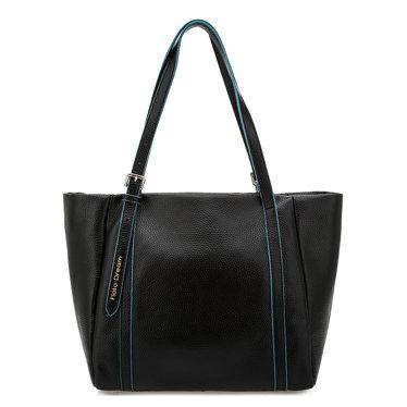 Вместительная сумка Fiato Dream 6090 FD кожа черный