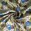 Thumbnail: Платок желтый с синими цветами