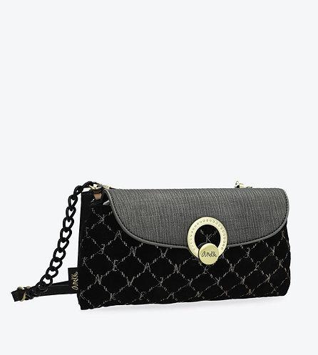 Элегантная бархатная сумка Le Boutique Anekke Couture