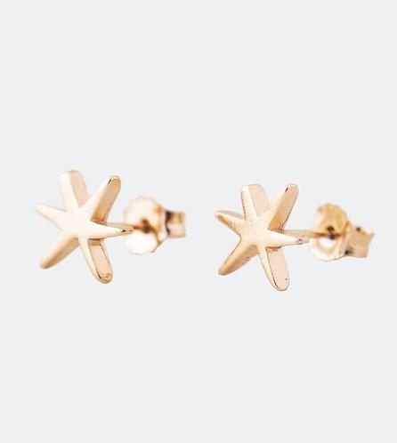 серьги звезды золотые бижутерия anekke украшения испания 31702-26-306GOL фото1