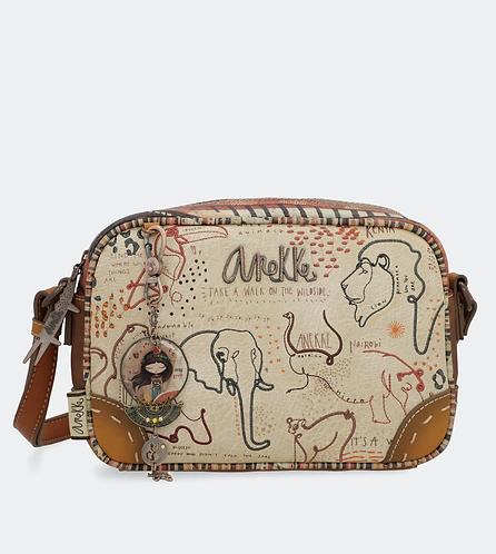 сумка женская прямоугольная кроссбоди anekke kenya 32722-03-014