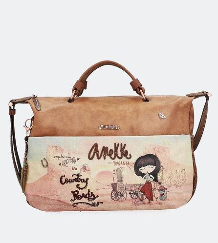 Стильная вместительная сумка Anekke Arizona