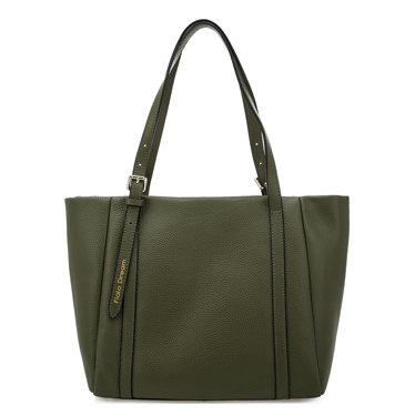 Вместительная сумка Fiato Dream 6090 FD кожа зеленый