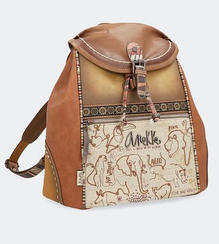 Рюкзак с клапаном и молнией Anekke Kenya