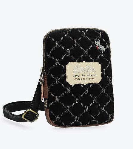 Маленькая черная сумка Le Boutique Anekke Couture