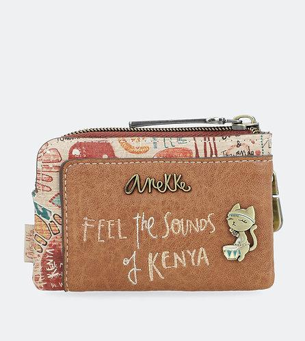 Монетница с тремя отделениями Anekke Kenya