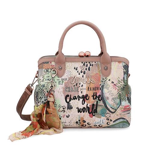 Элегантная сумка с замком-поцелуем Anekke Jungle