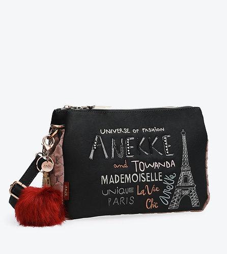 Сумка на плечо в комплекте с косметичкой Anekke Couture
