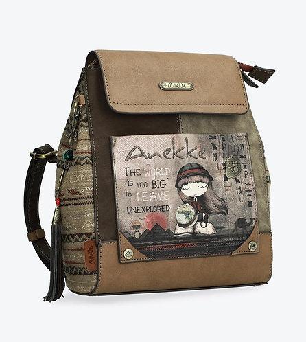 Сумка-рюкзак на молнии и магнитной застежке Anekke Egypt