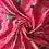 Thumbnail: Платок красный с цветами