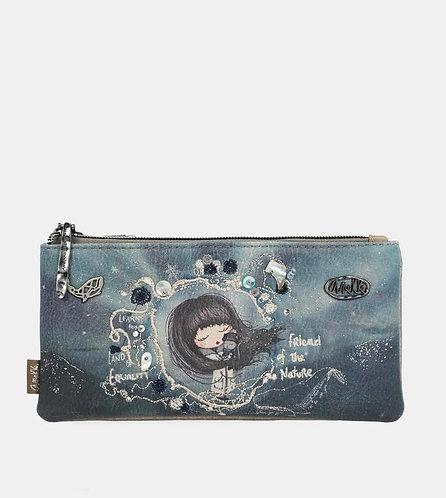 Вместительный кошелек с тремя отделениями Anekke Iceland