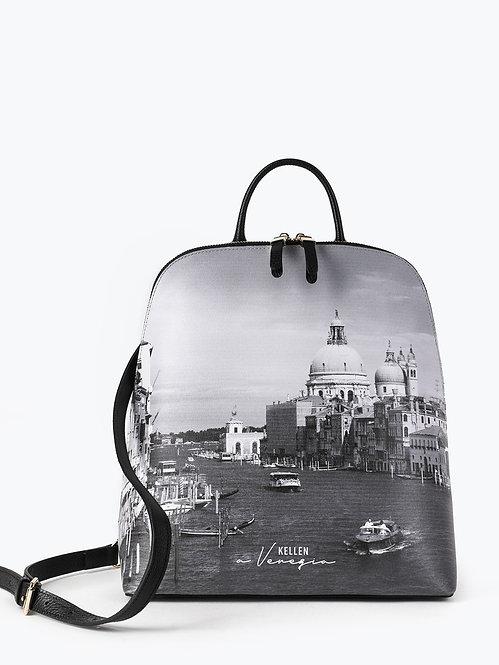 Рюкзак с пейзажным принтом Венеции KELLEN