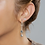комплект сережек бижутерия anekke серебро звезды 31702-26-305SIL фото4