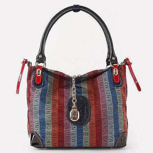 Разноцветная текстильная сумка-тоут Marino Orlandi