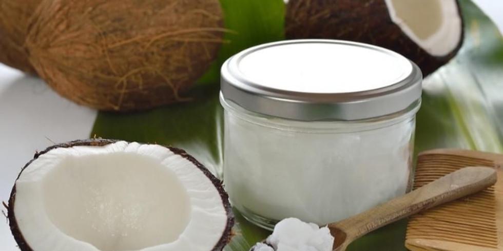 Online workshop: Verzorgingsproducten met kokosolie