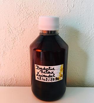 Badolie met etherische oliën