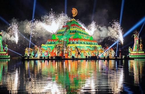 Festival de la luz y vida en Chignahuapan