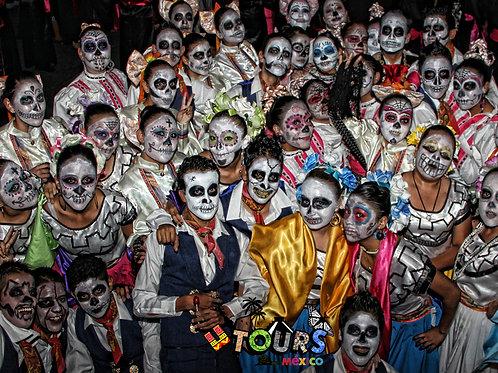 Festival de las lloronas en Taxco + Grutas