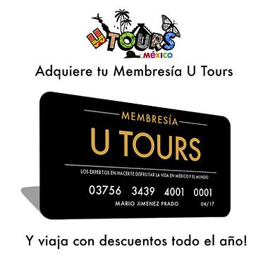 Membresía anual U-TOURS Viajero frecuente