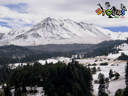 Nevado de Toluca + Cosmovitral + Centro de Toluca